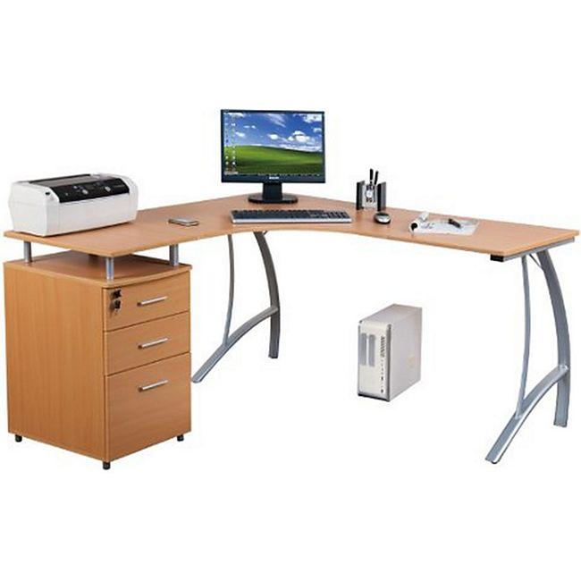 hjh OFFICE Schreibtisch CASTOR - Bild 1