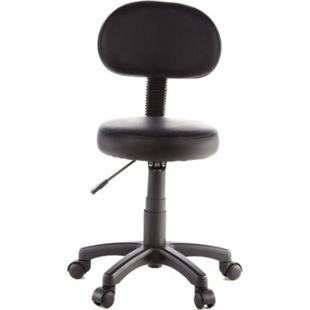 hjh OFFICE Arbeitsstuhl Arbeitshocker DISC PLUS ohne Armlehnen - Bild 1