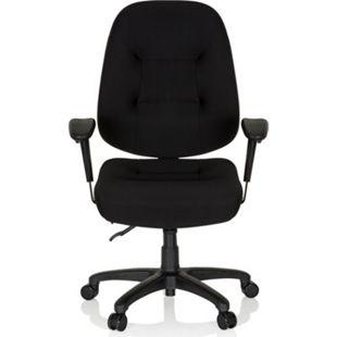 hjh OFFICE Profi Bürostuhl ZENIT XXL mit Armlehnen (höhenverstellbar) - Bild 1