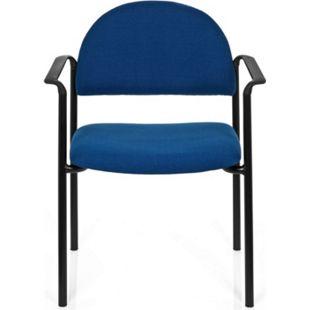 hjh OFFICE Besucherstuhl Konferenzstuhl XT 700 mit Armlehnen - Bild 1