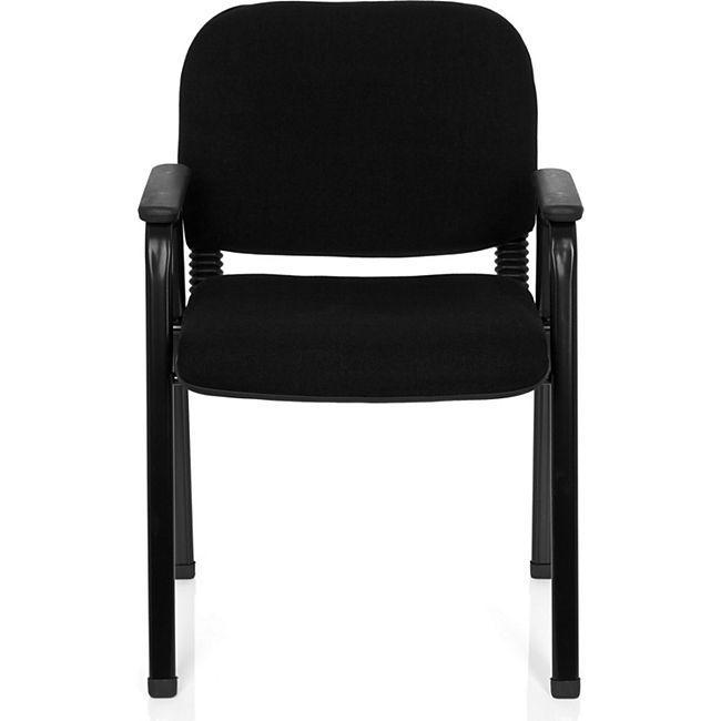 hjh OFFICE Besucherstuhl Konferenzstuhl XT 650 mit Armlehnen - Bild 1