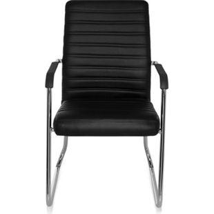 hjh OFFICE Besucherstuhl Konferenzstuhl STEEL V mit Armlehnen - Bild 1