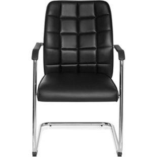 hjh OFFICE Besucherstuhl Konferenzstuhl FLEXO V mit Armlehnen - Bild 1