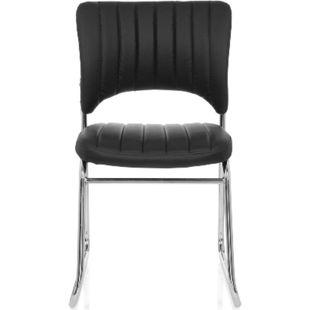 hjh OFFICE Besucherstuhl Konferenzstuhl CASPI V ohne Armlehnen - Bild 1