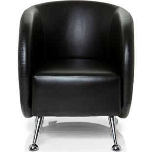 hjh OFFICE Loungesessel ST. LUCIA mit Armlehnen - Bild 1