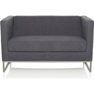 hjh OFFICE Lounge Sofa BARBADOS mit Armlehnen - Bild 1