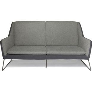 hjh OFFICE Lounge Sofa LAGUN mit Armlehnen - Bild 1