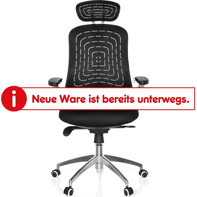 hjh OFFICE Profi Bürostuhl GENUA PRO mit Armlehnen - Bild 1