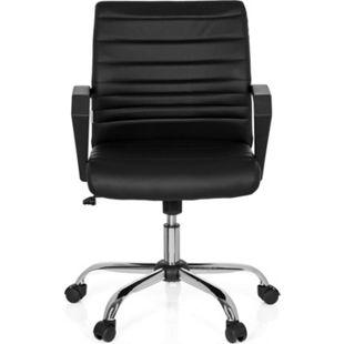 hjh OFFICE Home Office Bürostuhl ERGOSMOOTH mit Armlehnen - Bild 1