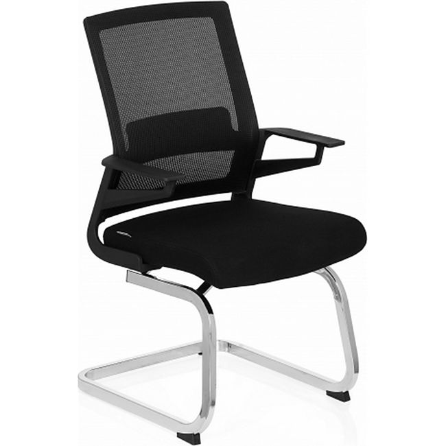 hjh OFFICE Besucherstuhl Konferenzstuhl INVENTOR V mit Armlehnen - Bild 1