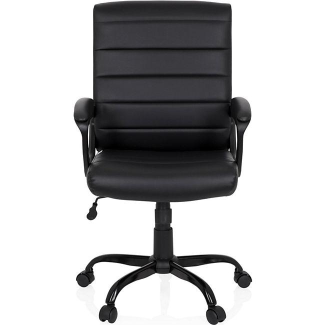 hjh OFFICE Home Office Chefsessel ERGOSMOOTH BIG mit Armlehnen - Bild 1