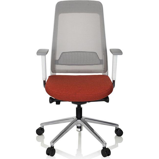 hjh OFFICE Profi Bürostuhl CHIARO T2 WHITE mit Armlehnen (höhenverstellbar) - Bild 1