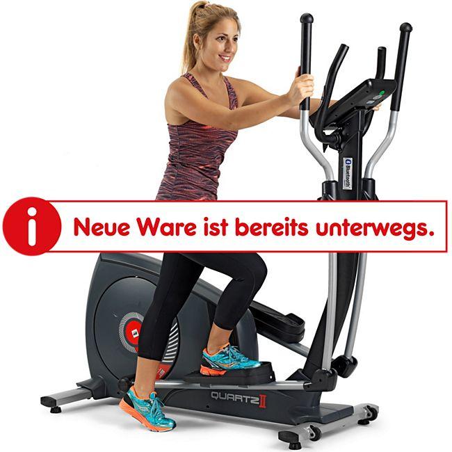 BH Fitness BH Quartz II Crosstrainer Ellipsentrainer Fitness Apps 14 kg Schwungmasse schwarz G2381iFD - Bild 1