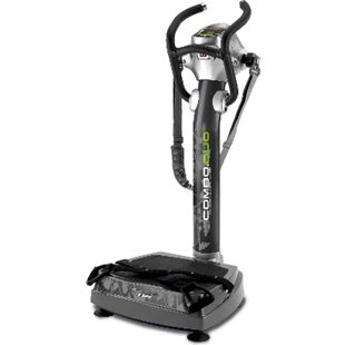 BH Fitness BH Fitness COMBO DUO YV56 Vibrationstrainer Vibrationsplatte Zellulitebehandlung 2 LED-Bildschirme 3 Massagebänder - Bild 1