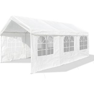 JOM Gartenpavillon XXL 3 x 6 m,Profi-Pavillon, Pavillion, Partyzelt, Festzelt, Gartenzelt, 38er Gestänge extra stabil - Bild 1