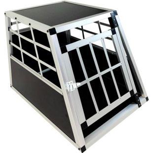 JOM Hundebox Hundetransportbox Transportbox Hund Alubox Reisebox Gitterbox Auto - Bild 1