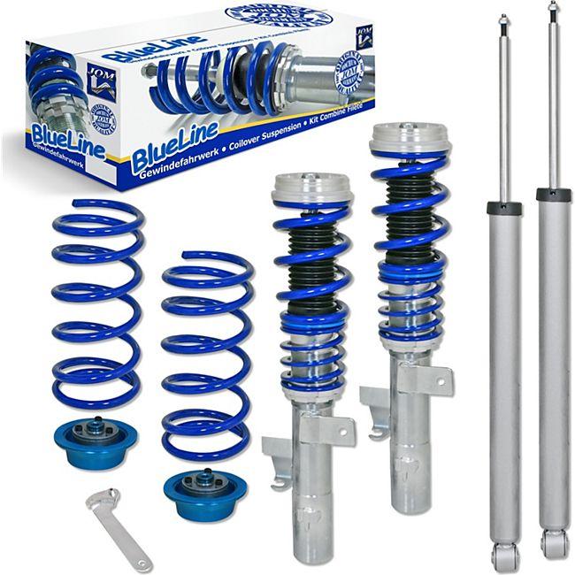 JOM BlueLine Gewindefahrwerk passend für Volvo C30 1.6, 1.8, 2.0, 2.4i, 1.6D, 2.0D, Baujahr 2006 - 2012 - Bild 1