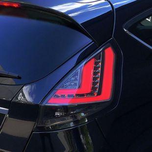 JOM LED Lightbar Rückleuchten Klarglas schwarz passend für Ford Fiesta (Typ JA8) ab Bj. 2008 -2012 - Bild 1