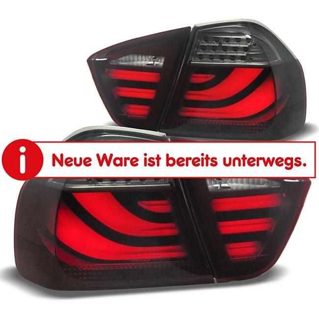 JOM LED Lightbar Rückleuchten im New 5er Design dunkelrot BMW 3er E90 Limo Bj. 04-08 - Bild 1