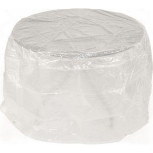 DEGAMO Abdeckhaube Tisch 100x70cm rund, PE transparent - Bild 1