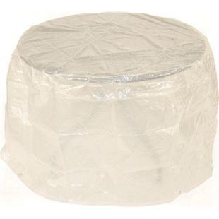 DEGAMO Abdeckhaube Tisch 125x70cm rund, PE transparent - Bild 1
