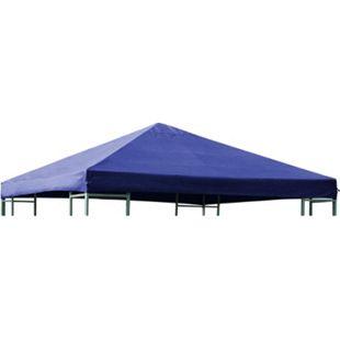 DEGAMO Ersatzdach für Metall- und Alupavillon 3x3 Meter dunkelblau, wasserdicht PVC-beschichtet - Bild 1