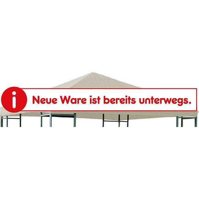 DEGAMO Ersatzdach für Metall- und Alupavillon 3x3 Meter ecru, wasserdicht PVC-beschichtet - Bild 1