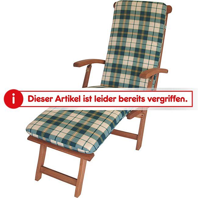 gartenmoebel einkauf auflage boston f r deckchair gr n beige kariert online kaufen netto. Black Bedroom Furniture Sets. Home Design Ideas