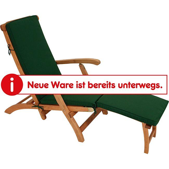 DEGAMO Auflage DENVER für Deckchair, grün - Bild 1