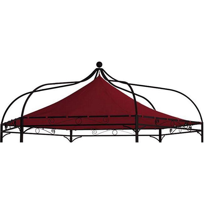 DEGAMO Ersatzdach für Pavillon MODENA, Polyester PVC-beschichtet bordeaux - Bild 1