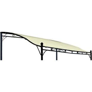 DEGAMO Ersatzdach für Anbaupavillon MANTOVA, PVC-beschichtet ecru - Bild 1