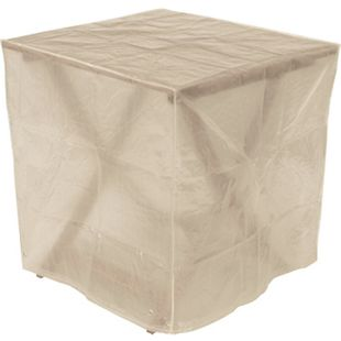 DEGAMO Abdeckhaube Tisch 70x70x70cm eckig, PE transparent - Bild 1