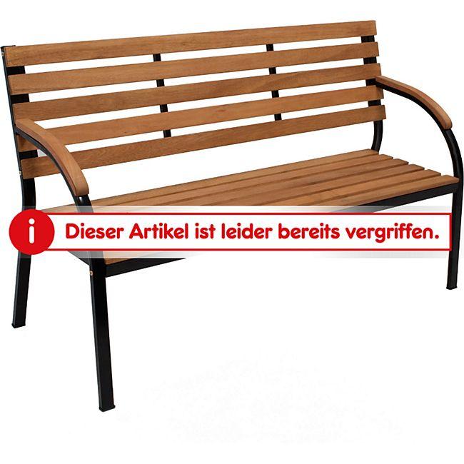 gartenmoebel-einkauf Bank BOLERO 3-sitzer, Metallgestell schwarz ...