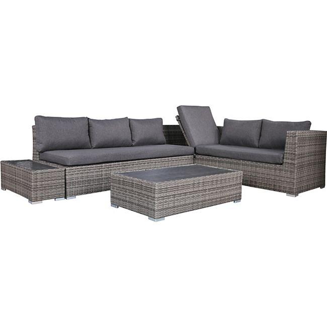 degamo funktions lounge set lorenzo aluminium. Black Bedroom Furniture Sets. Home Design Ideas