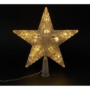 DEGAMO Christbaumspitze 24cm, 10 LED - Bild 1