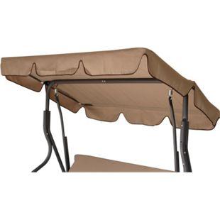 DEGAMO Dachplane für Hollywoodschauk FLORIDA 170x110cm, cremefarben - Bild 1