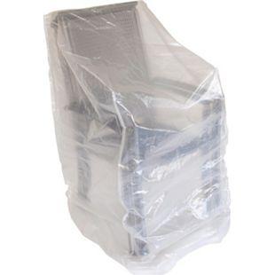 DEGAMO Abdeckhaube Stapelstühle 150cm, PE transparent - Bild 1