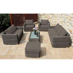 Baidani Rattan Garten Lounge Garnitur Escape - Bild 1