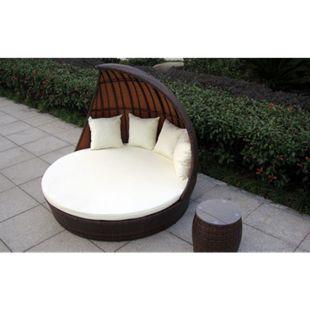 Baidani Rattan Garten Lounge Doppel Liege Fantasy - Bild 1