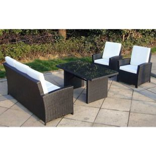 Baidani Rattan Garten Lounge Comfort - Bild 1