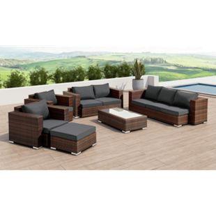 Baidani Daylight Polyrattan Lounge Sitzgruppe Gartenmöbel Set - Bild 1