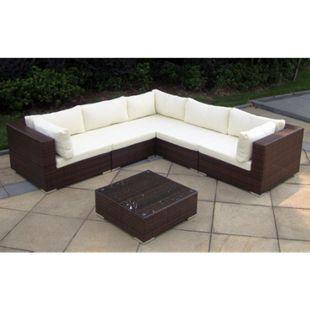 Baidani Rattan Garten Lounge Sunshine Select - Bild 1