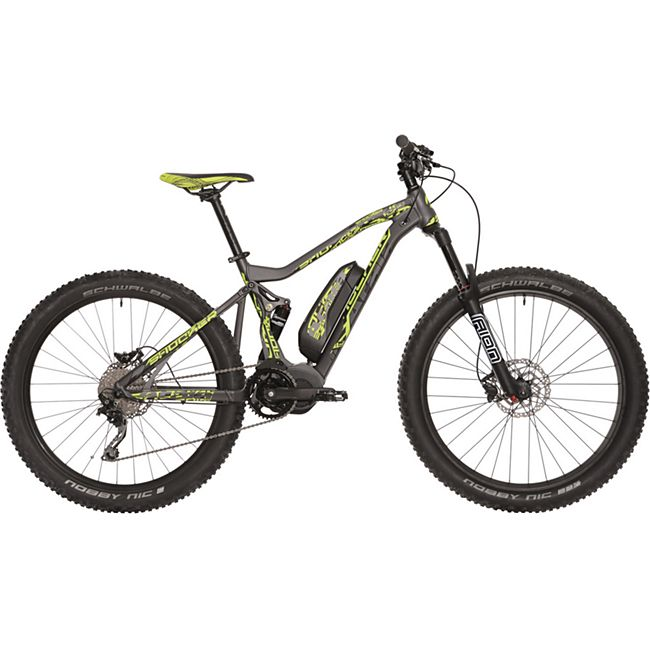 27,5+ Elektro Fully Mountainbike 10 Gang Atala... 46 cm