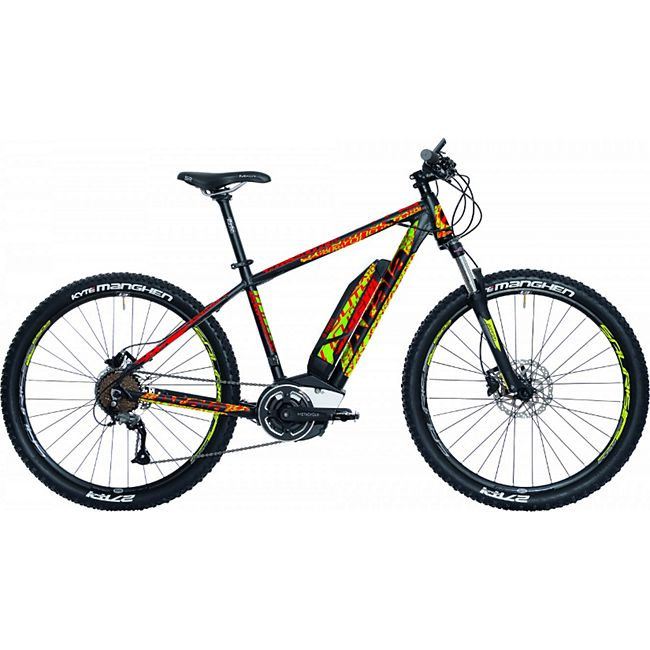 27,5 Zoll Elektro Mountainbike 9 Gang Atala Youth Lite... schwarz, 33 cm