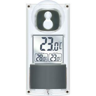 BRESSER Solar Fenster Thermometer mit Saugnapf - Bild 1