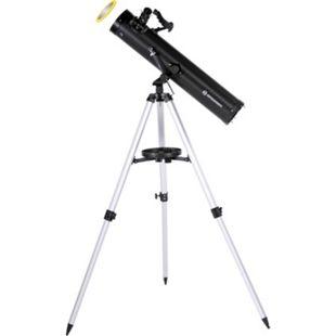 BRESSER Venus 76/700 AZ - Spiegelteleskop mit Smartphone Kamera Adapter - Bild 1