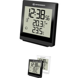 BRESSER TemeoTrend SQ Funktemperaturstation - Thermometer Farbe: weiss - Bild 1