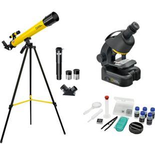 NATIONAL GEOGRAPHIC Teleskop + Mikroskop Set für Einsteiger - Bild 1