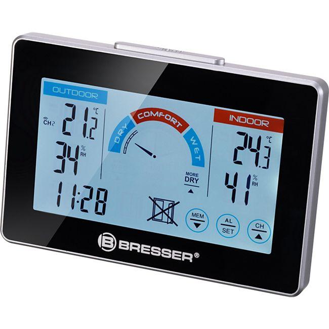 BRESSER Funk-Thermo-/ Hygrometer mit Lüftungsempfehlung - Bild 1