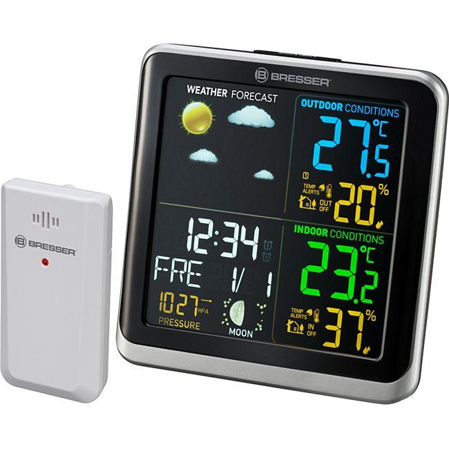 BRESSER ClimaTemp TB Wetterstation mit LCD Farbdisplay - Bild 1